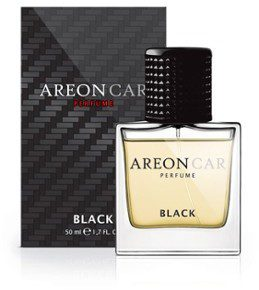 Areon Areon Perfume Perfum do samochodu Black 50ml