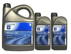 GM Motor Oil Genuine 10W-40 2L