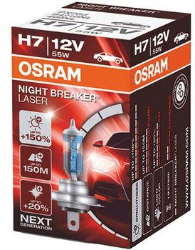 Osram Osram H7 Night Breaker Laser + 150% | Box 64210NL