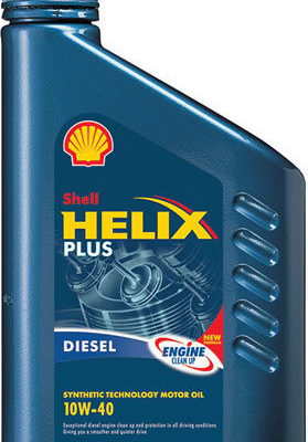 Shell Helix Plus 10W-40 1L
