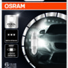OSRAM (C5W)** 36mm Cool White 6000 K 12V 0,8W SV8.5-8
